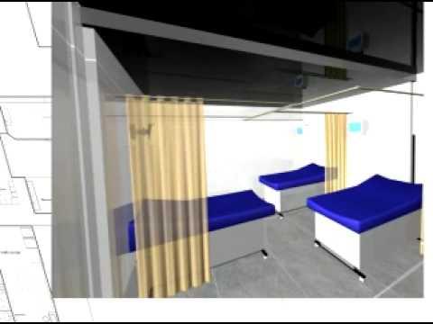 Spevco mobile hospital concept fly through