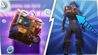 HOW TO GET THE BACKPACK *FREE* FORTNITE / RUST BUCKET / DIRECT FORTNITE: BATTLE ROYALE
