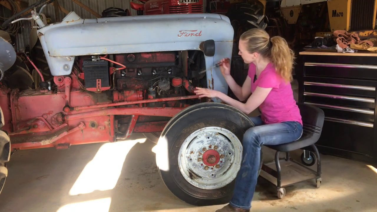 Install A Distributor In Time Your Tractor Youtube 53 Ford 8n Wiring on ford 800 tractor wiring diagram