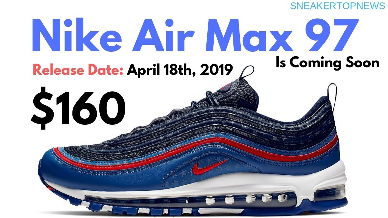 45ca787bc2957 A Starry And Patriotic Nike Air Max 97 Is Coming Soon - YouTube