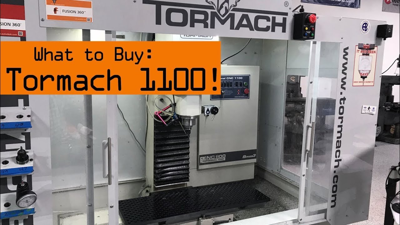 What to Buy: Tormach PCNC 1100 CNC Mill - NYC CNC