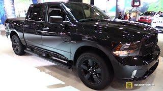 Dodge Ram 1500 Black Express 2013 Videos