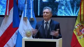 Video: Macri: si hablásemos en argentino...