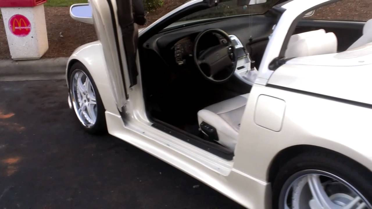 Nissan 300zx Convertible With Lambo Doors Youtube