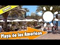 Playa de las Americas Tenerife Spain: Tour of beach and resort