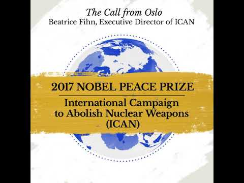 WORLD EXCLUSIVE: THE NOBEL PEACE PRIZE CALL FROM OSLO!