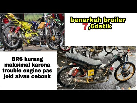 Kalian Fans Mana? Bbk 200cc Sleep Engine Drag Bike IDC