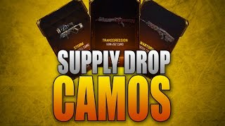ALL Supply Drop Camos in Black Ops 3! (Epic, Legendary, and Rare)