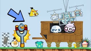 Bad Piggies - BONE INVENTIONS 6200+ SCRAPS ZOMBIES MECHANIC ESCAPE THE ANGRY BIRDS
