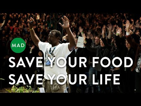 """Ron Finley at MAD4: """"Save Your Food Save Your Life"""""""