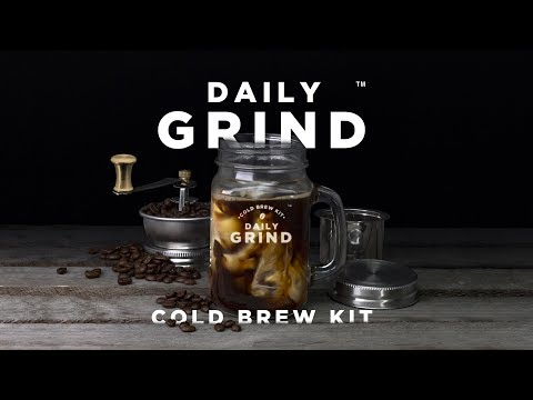 Daily Grind™ - Cold Brew Coffee Kit from Luckies