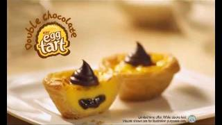 Kfc - Double Chocolate Egg Tart