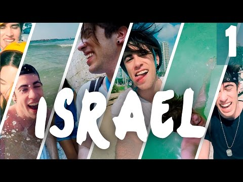 MI VIAJE A ISRAEL !! - VLOG PARTE 1 |ALEJO IGOA