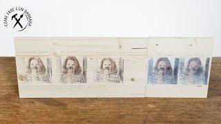 Come trasferire foto su legno: 5 modi per 5 effetti diversi