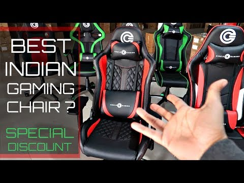 Circle Gaming / Office Chair (CH80 Black/Red) REVIEW and SPECIAL DISCOUNT Video