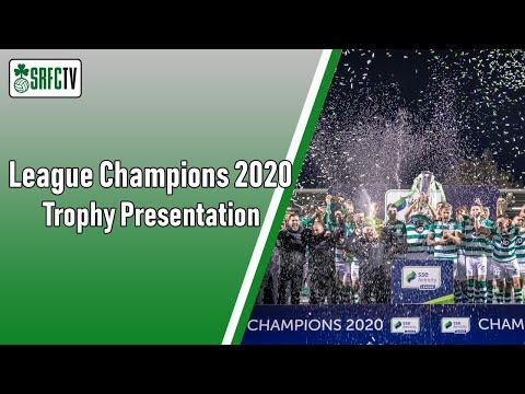 Trophy Presentation   League Champions 2020