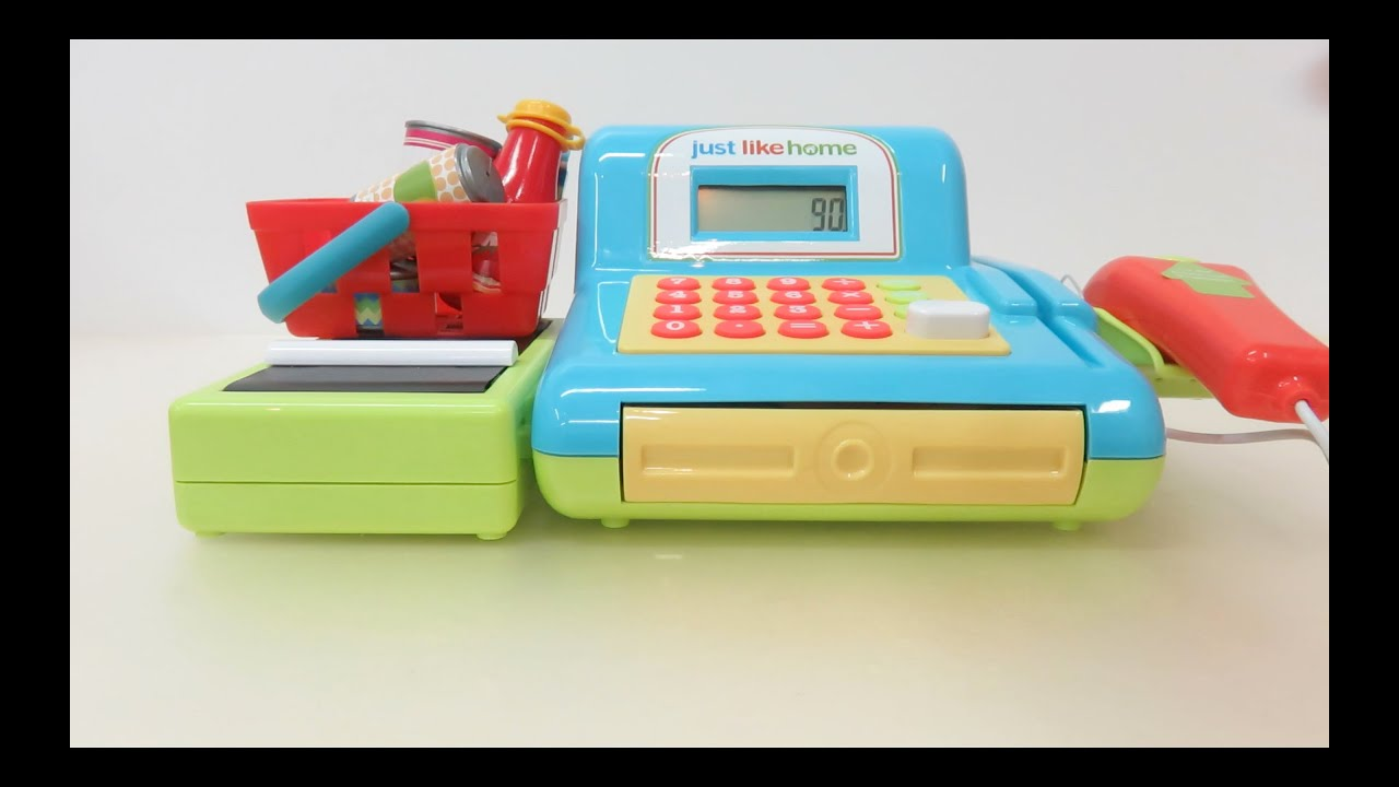 Just Like Home Cash Register Scanner Not Working