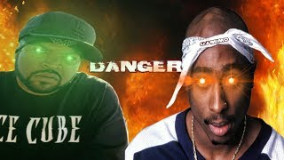 2Pac - DANGER (Ft. Ice Cube) HD