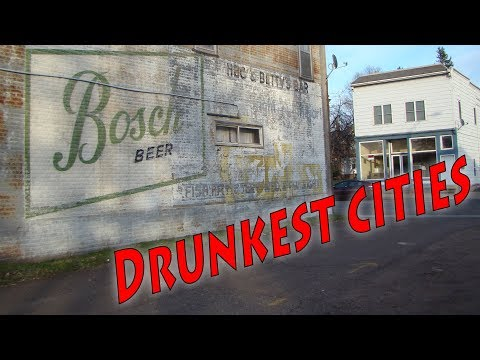 Top 10 Drunkest cities in America. Wisconsin has far too many.