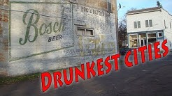 Top 10 Drunkest cities in America. Wisconsin has too many. You'll end up in Alcohol rehab.