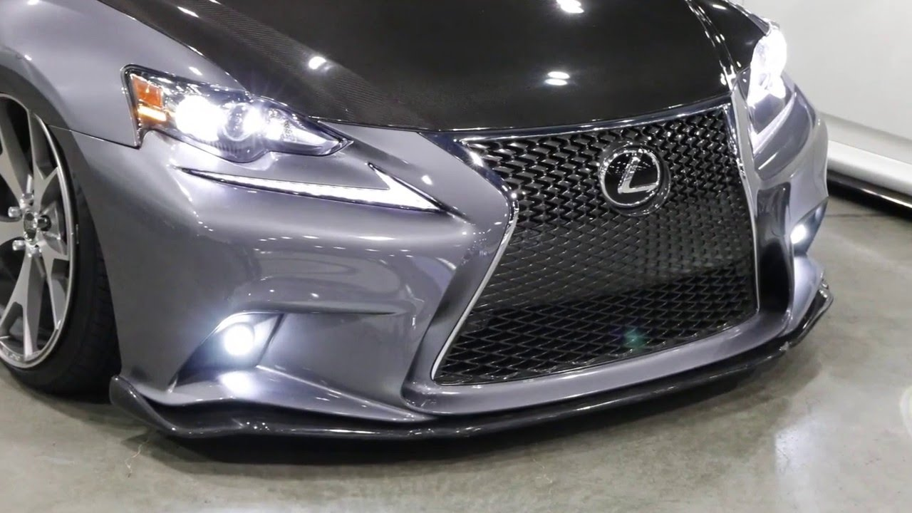 iJDMTOY Lexus IS F-Sport LED Fog Lights - YouTube