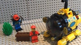 Обзор: Brick 1213 Батискаф. И опять китайское Лего) ʕ•͡౪•ʔ