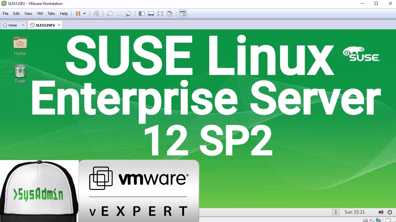 SUSE Linux Enterprise Server 12 SP2 Installation on VMware Workstation  [2017]