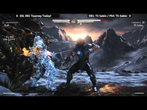 MKX After Hours Ep. 4: Floe (Dvorah/Sub-Zero) vs TS Sabin (Kano) [720p/60fps]