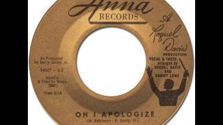 BARRETT STRONG - Oh I Apologize [Anna 1111] 1959
