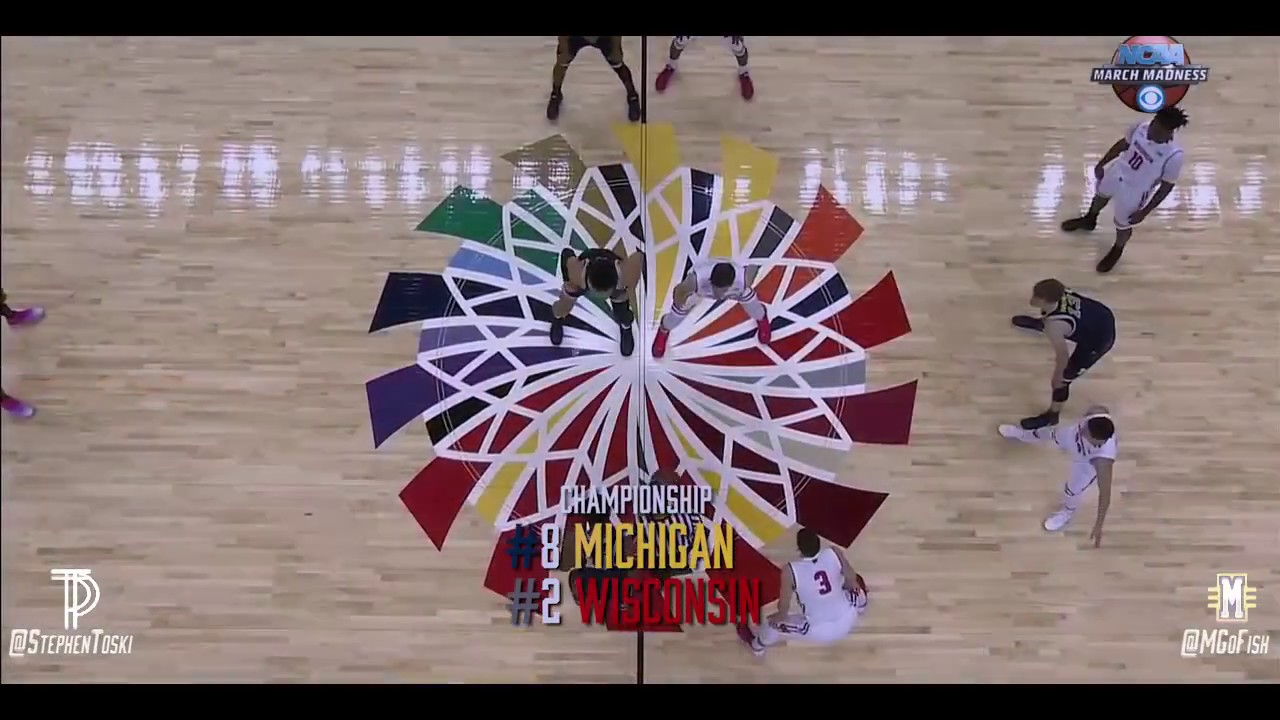 Michigan basketball 2017 the crashed champions big for M go fish