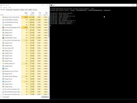 Resolved Ionic 2 Windows Build Error windows, build, ionic2, windows