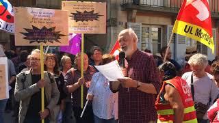 Manifestation anti-Macron du 26 mai 2018 à Alençon