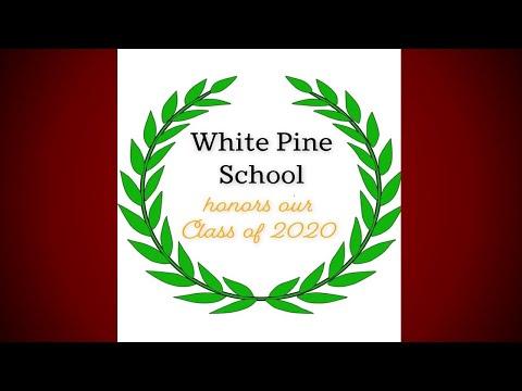 White Pine School Eighth Grade Honors 2019 2020