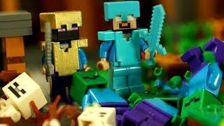 Lego Minecraft Survival 4 Мультфильм Лего Майнкрафт для Детей. Лего Мультики на русском