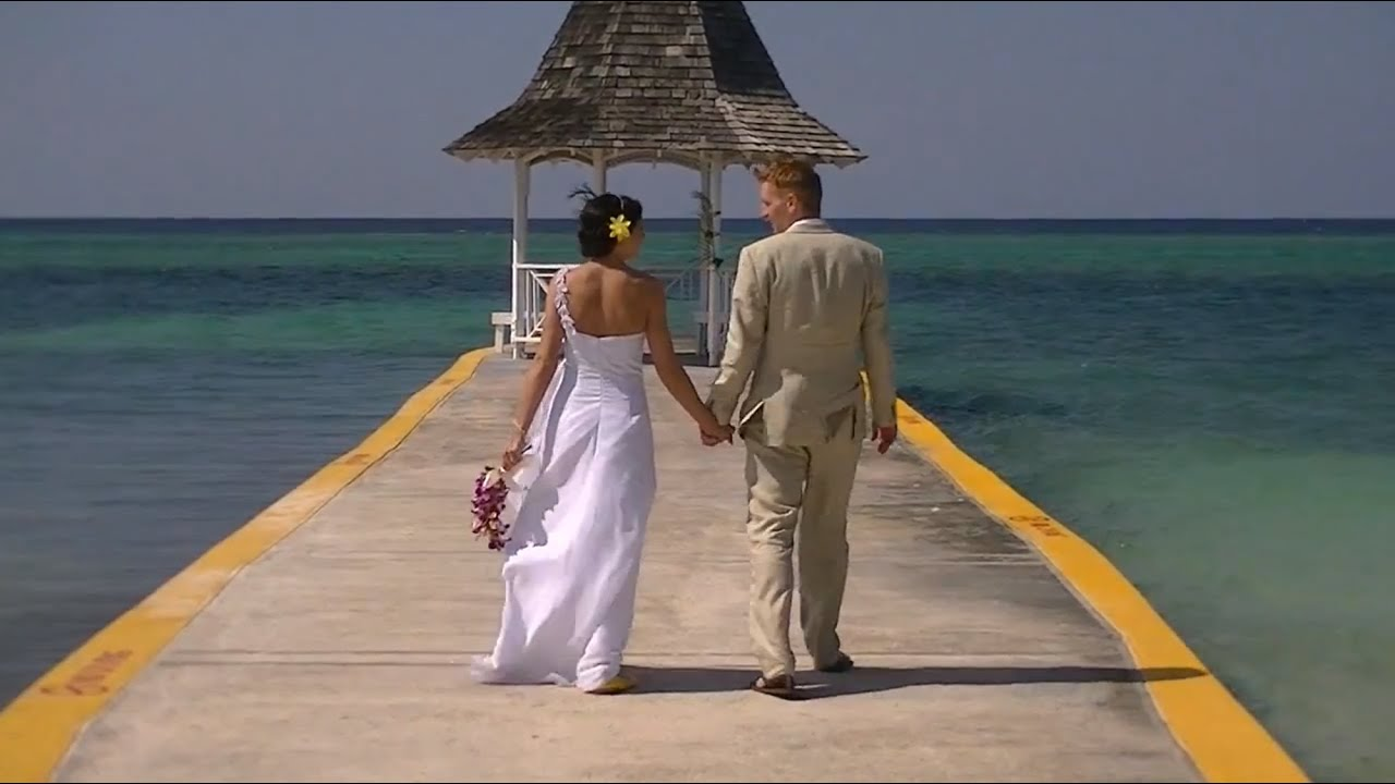 Jen And Tonys Wedding In Jamaica Sandals Montego Bay