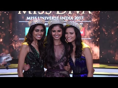 Yamaha Fascino Miss Diva Miss Universe India 2017: Crowning Moments