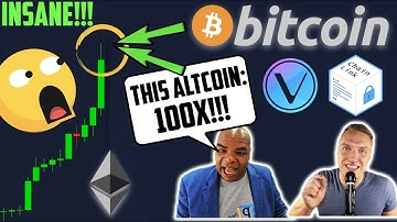"""INSAAAANE!!!! BITCOIN BREAKOUT TO THIS PRICE IMMINENT & """"THIS ALTCOIN: 100x!!!!!!!!!"""" w. DavinciJ15"""