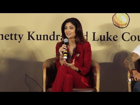 Shilpa Shetty Full Speech   'The Great Indian Diet'