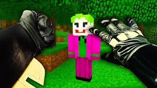 REALISTIC MINECRAFT - STEVE BECOMES BATMAN!