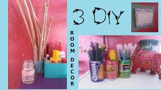 • [DIY] 3 DIY pour décorer sa chambre