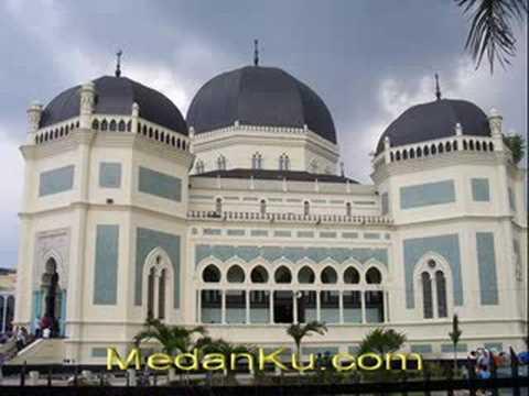 Medan City Kota Indonesia