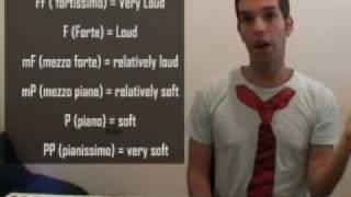 Music Dynamics (Forte, Piano, Fortissimo, Pianissimo) Piano Technique - (Lesson 16)