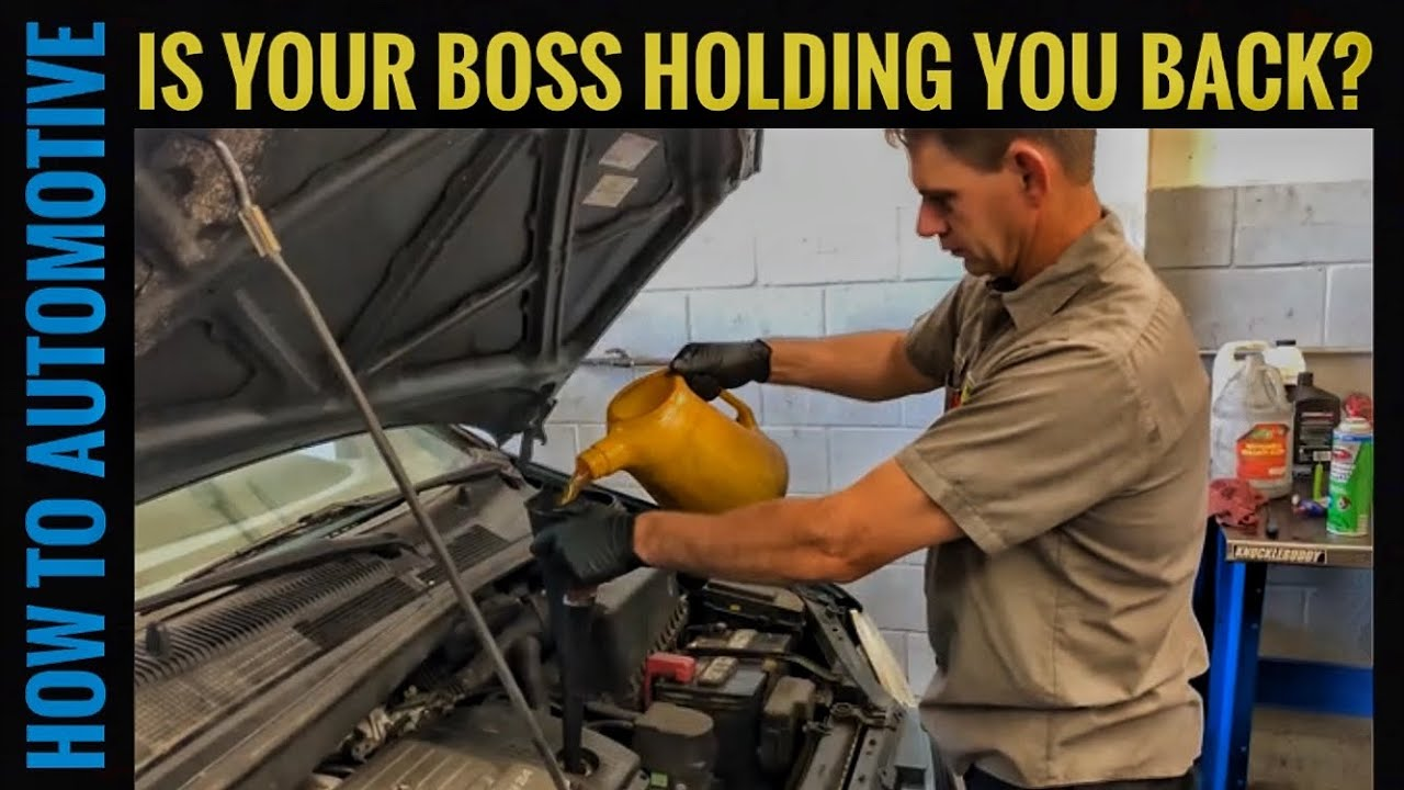 Are You Being Held Back as a Mechanic/Auto Technician?