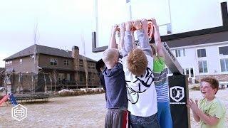 The Dominator Basketball Hoop