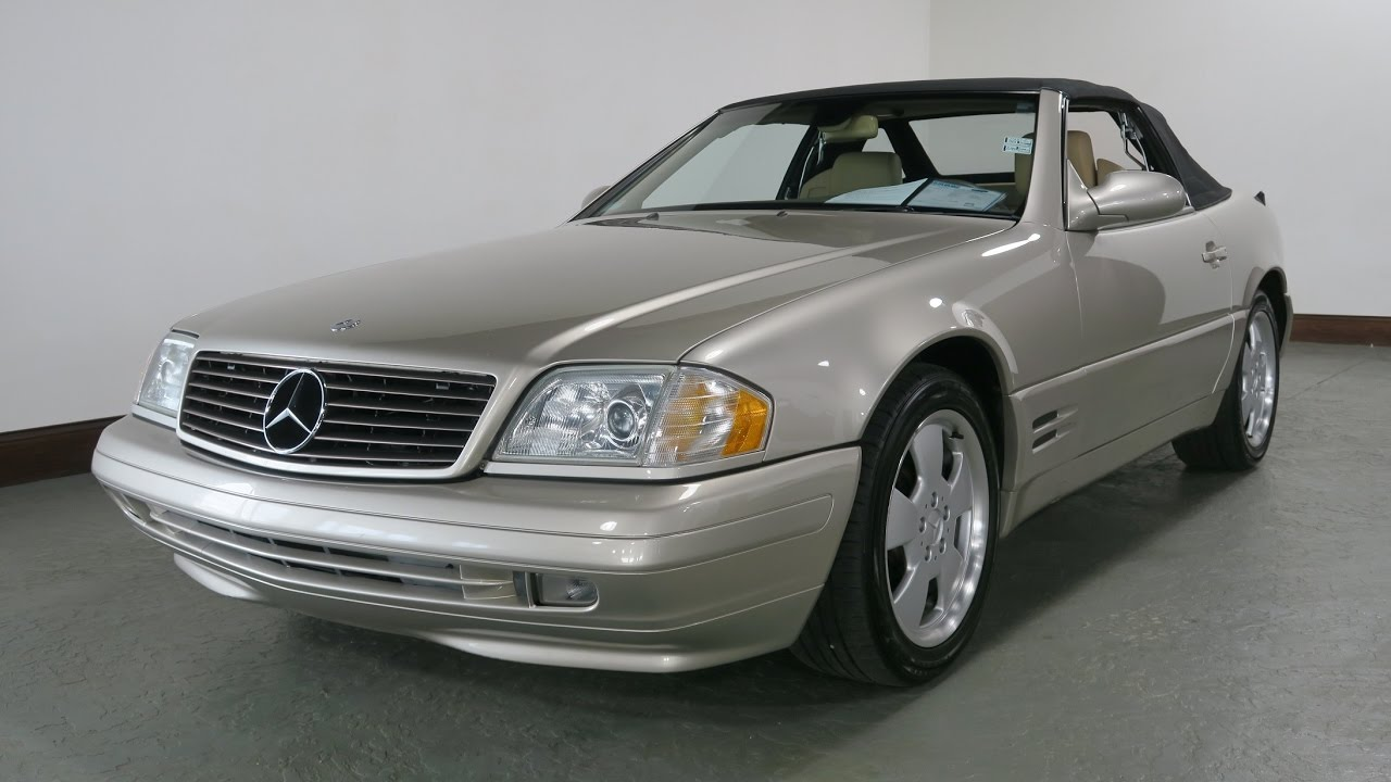 1999 mercedes benz sl500 for sale in canton ohio jeff 39 s. Black Bedroom Furniture Sets. Home Design Ideas