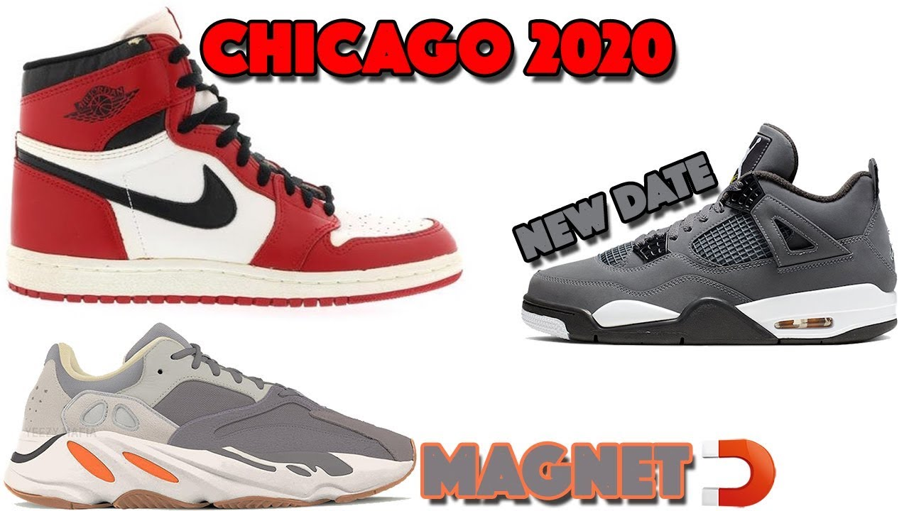 New Jordans 2020.Air Jordan 1 High 85 Chicago 2020 New Beginnings Jordan 4 Cool Grey Yeezy 700 Magnet And More