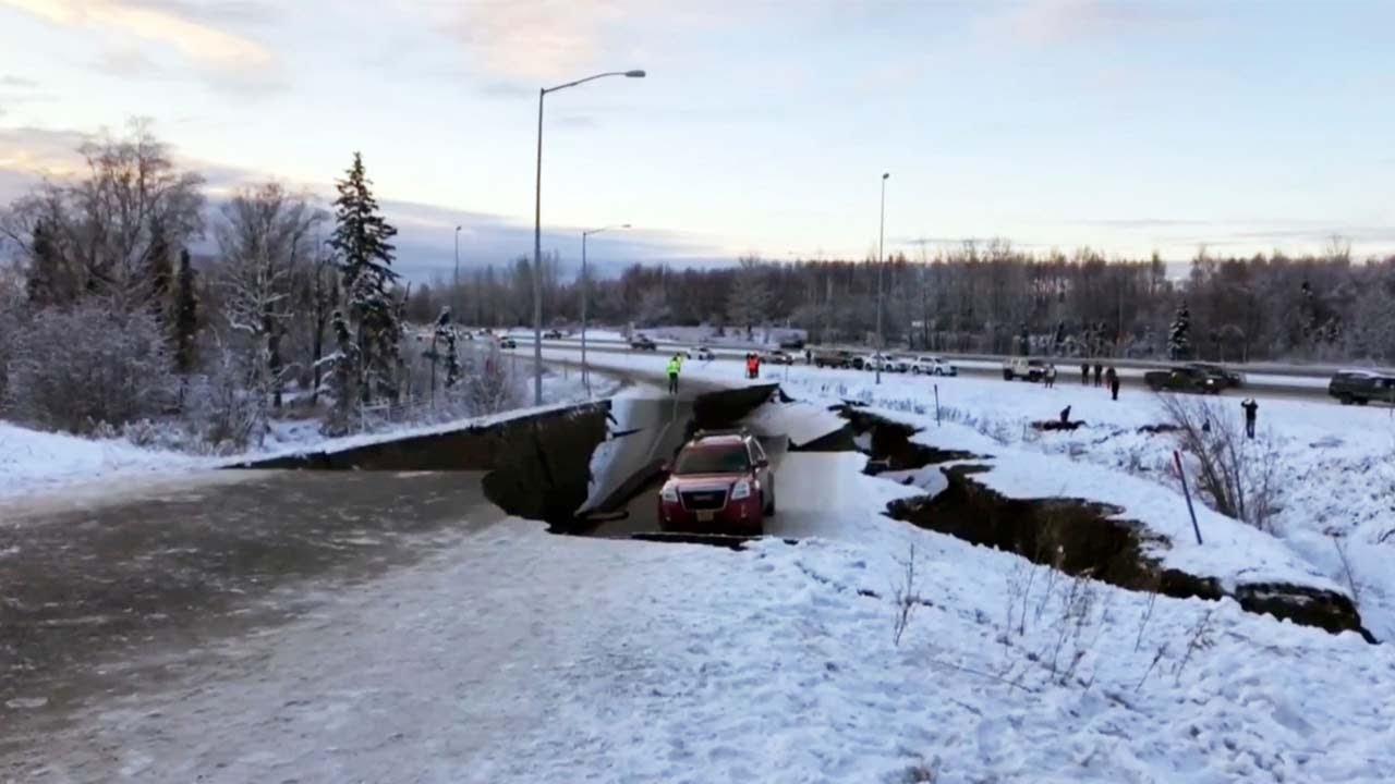 Alaska earthquake measuring 7.5 triggers tsunami warning