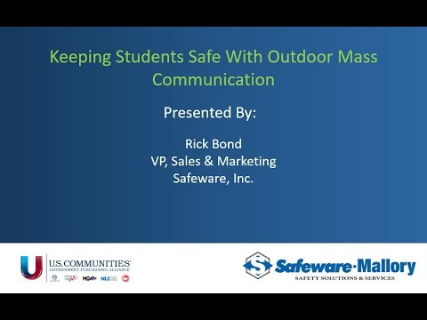Keeping Students Safe With Outdoor Mass Communication