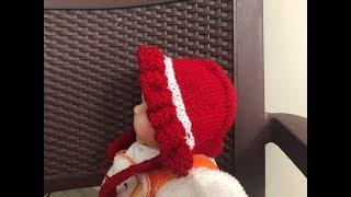 Newborn Baby's Cap (पैदा हुए बच्चे की टोपी कैसे बनाये ) | Knitting Hindi |
