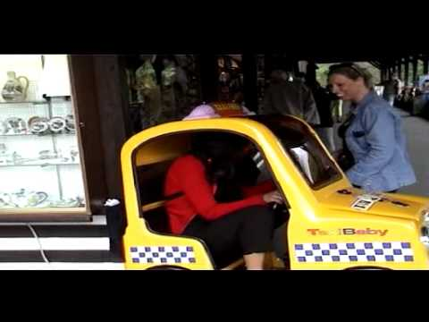 Taxi ride - Spa June 2001